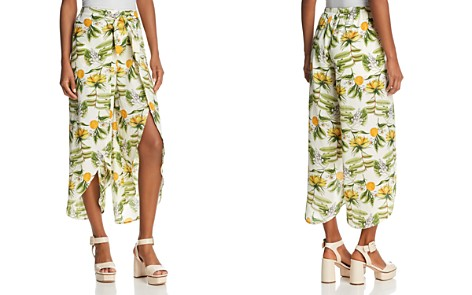 Lost and Wander Limonada Split-Front Pants - Bloomingdale's_2