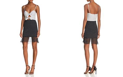 Karina Grimaldi Daylin Polka-Dot Mini Dress - Bloomingdale's_2