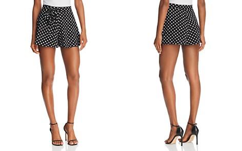 AQUA Polka Dot Flounce Shorts - 100% Exclusive - Bloomingdale's_2