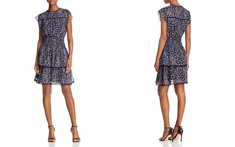 AQUA Lace-Trim Floral Smocked Dress - 100% Exclusive - Bloomingdale's_2