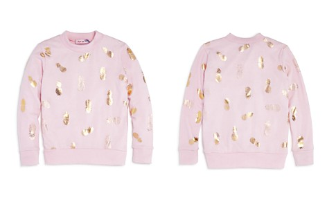 Play Six Girls' Metallic Pineapple Sweatshirt - Little Kid - Bloomingdale's_2