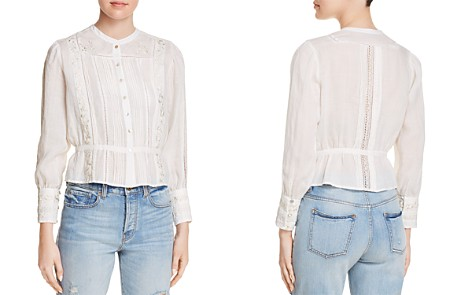 Joie Chikako Embroidered Shirt - Bloomingdale's_2