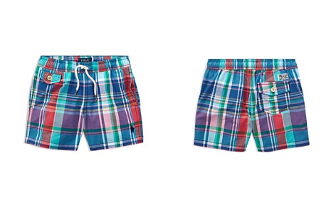 Polo Ralph Lauren Boys' Plaid Swim Trunks - Little Kid - Bloomingdale's_2