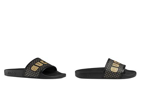 Gucci Women's Gucci SEGA® Print Slides- Bloomingdale's_2
