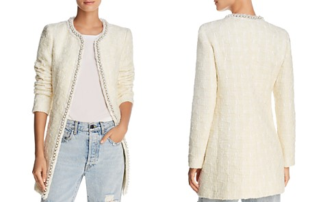 Alice + Olivia Andreas Embellished Tweed Jacket - Bloomingdale's_2