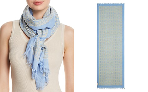 Tory Burch T Linen Oblong Scarf - Bloomingdale's_2