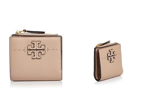 Tory Burch McGraw Mini Foldable Leather Wallet - Bloomingdale's_2