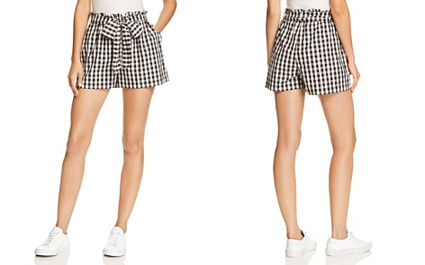 Joie Cleantha High Waist Gingham Shorts - Bloomingdale's_2