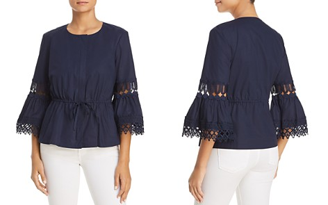 Le Gali Avril Lace Inset Jacket - 100% Exclusive - Bloomingdale's_2