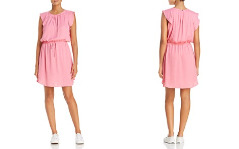 VINCE CAMUTO Flutter Sleeve Drawstring Dress - 100% Exclusive - Bloomingdale's_2