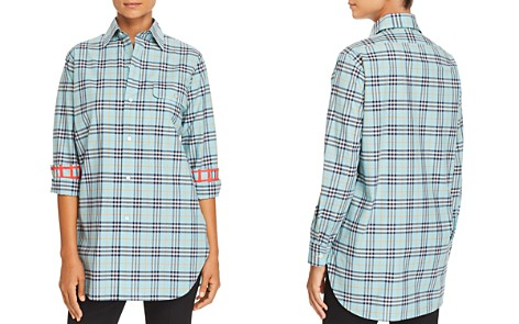Burberry Crow Plaid Button-Down Top - Bloomingdale's_2