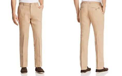 BOSS Crigan Linen Regular Fit Pants - Bloomingdale's_2