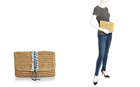 Fallon & Royce Reese Fold Over Straw Clutch - Bloomingdale's_2