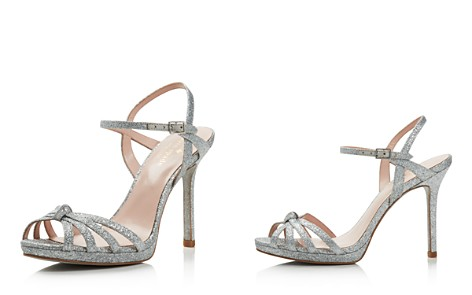 kate spade new york Women's Florence Glittered Leather High Heel Sandals - Bloomingdale's_2