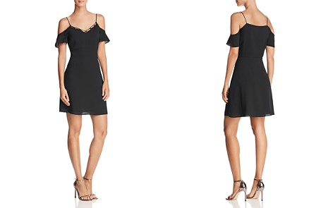 Cooper & Ella Lotte Cold-Shoulder Dress - Bloomingdale's_2