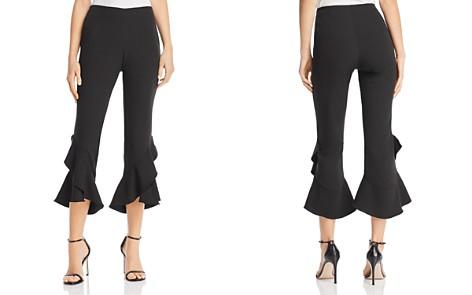 AQUA Ruffled Cropped Pants - 100% Exclusive - Bloomingdale's_2