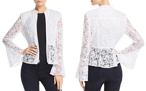 AQUA Peplum Lace Jacket - 100% Exclusive - Bloomingdale's_2