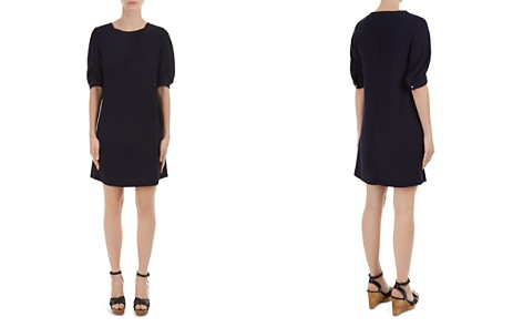 Gerard Darel Deandre Ruched-Sleeve Dress - Bloomingdale's_2