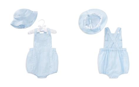 Ralph Lauren Boys' Linen Shortall & Hat Set - Baby - Bloomingdale's_2