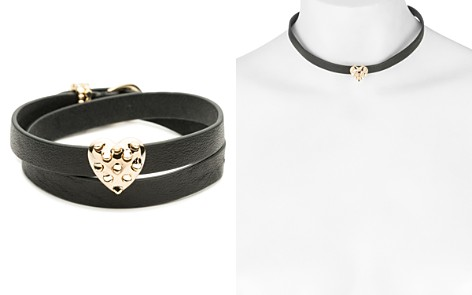 Alexis Bittar Heart Leather Wrap Bracelet - Bloomingdale's_2