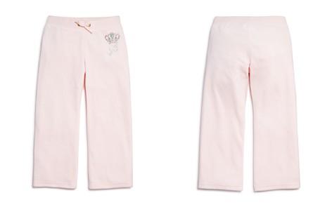 Juicy Couture Girls' Velour Rhinestone-Crown Mar Vista Pants - Big Kid - Bloomingdale's_2