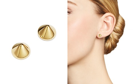 Moon & Meadow Cone Spike Stud Earrings in 14K Yellow Gold - 100% Exclusive - Bloomingdale's_2