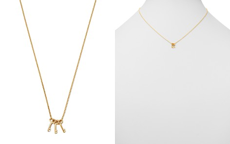 """Moon & Meadow Triple Key Pendant Necklace in 14K Yellow Gold, 16"""" - 100% Exclusive - Bloomingdale's_2"""