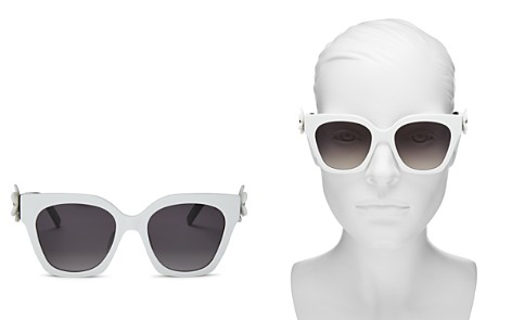 MARC JACOBS Women's Daisy Square Sunglasses, 52mm - Bloomingdale's_2