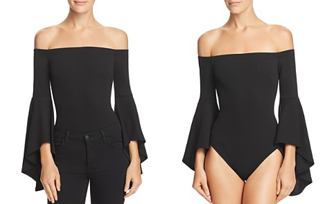 Sunset + Spring Off-the-Shoulder Bodysuit - 100% Exclusive - Bloomingdale's_2