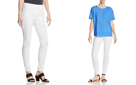 Eileen Fisher Legging Jeans in White - Bloomingdale's_2