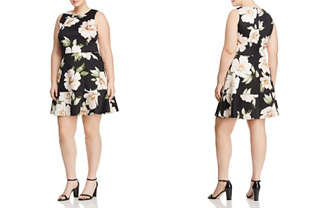 Love Ady Plus Floral Print Scuba Dress - 100% Exclusive - Bloomingdale's_2
