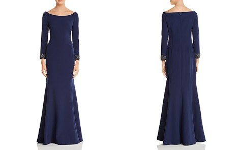 Laundry by Shelli Segal Embellished Boatneck Gown - Bloomingdale's_2