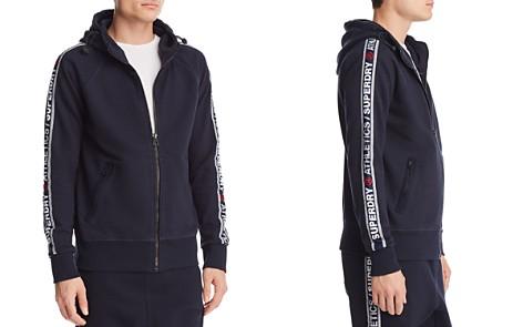 Superdry Logo Stripe Zip Hoodie - Bloomingdale's_2