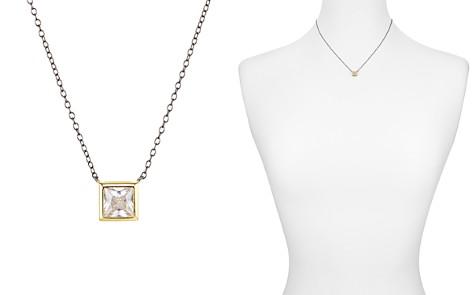 """Argento Vivo Square Solitaire Pendant Necklace, 16"""" - Bloomingdale's_2"""