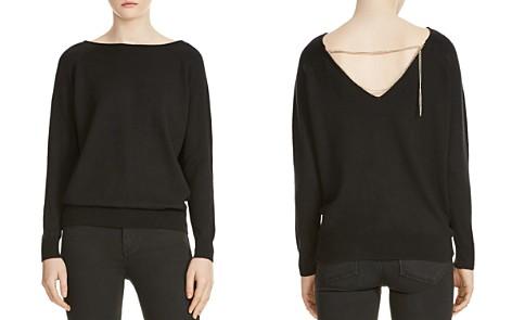 Maje Macademia Chain-Back Sweater - Bloomingdale's_2
