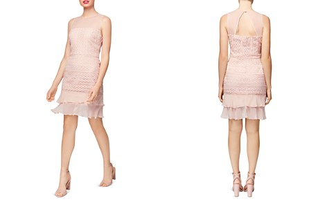 Betsey Johnson Illusion Lace Dress - Bloomingdale's_2