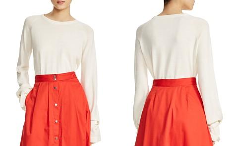 Maje Mory Tie-Cuff Sweater - Bloomingdale's_2