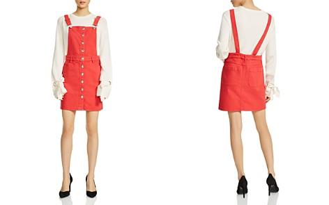 Maje Rira Overalls-Style Mini Dress - Bloomingdale's_2
