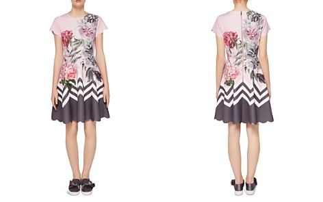 Ted Baker Haiilie Palace Gardens Scalloped Skater Dress - Bloomingdale's_2
