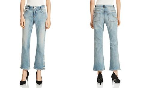 Maje Popsem Cropped Flared Jeans - Bloomingdale's_2