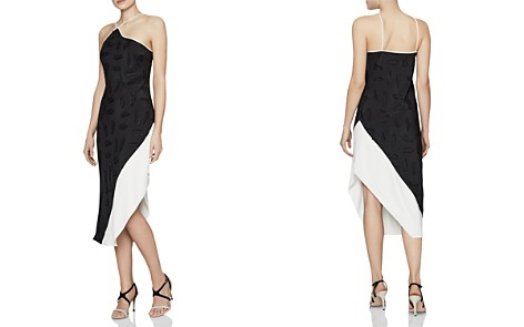 REISS Loren Color-Block Dress - 100% Exclusive - Bloomingdale's_2