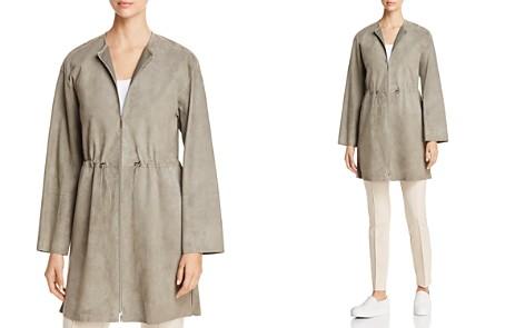 Lafayette 148 New York Linnea Suede Cinched-Waist Jacket - Bloomingdale's_2