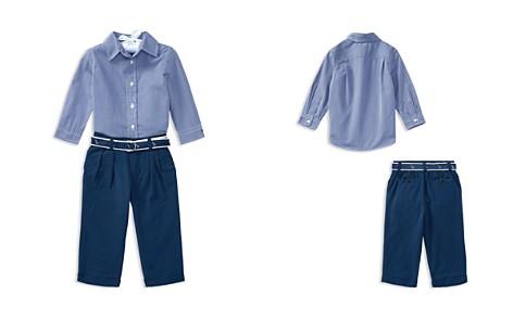Ralph Lauren Boys' Button-Down Shirt, Seersucker Pants & Printed Belt Set - Baby - Bloomingdale's_2