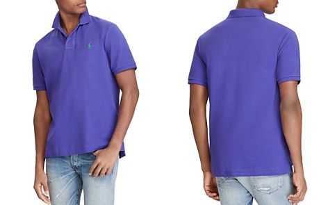 Polo Ralph Lauren Custom Slim Fit Mesh Short Sleeve Polo Shirt - Bloomingdale's_2
