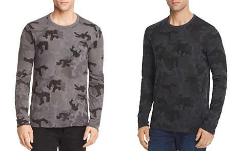 ATM Anthony Thomas Melillo Destroyed Wash Camouflage Long Sleeve Tee - 100% Exclusive - Bloomingdale's_2