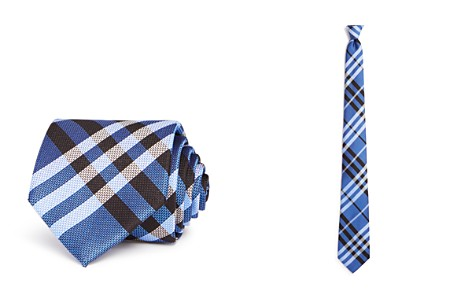 Burberry Clinton Textured Check Classic Tie - Bloomingdale's_2