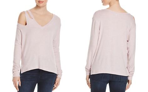 LNA Shoulder-Cutout Sweatshirt - Bloomingdale's_2