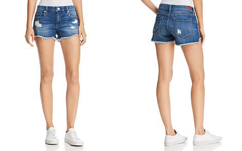 BLANKNYC Distressed Denim Shorts in Push Play - Bloomingdale's_2