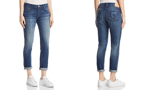 True Religion Cameron Caballo Flap Boyfriend Jeans in Vintage Hard Press - Bloomingdale's_2