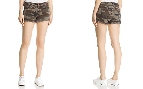 True Religion Keira Mid-Rise Shorts in Eva Camo - Bloomingdale's_2